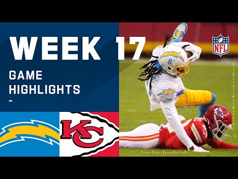Chargers vs. Chiefs Week 17 Highlights | NFL 2020