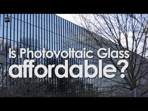 Is Photovoltaic Glass affordable?- Bell Works Project
