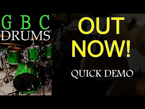 GBC Drums - New Sample Library Out Now! Quick Demo