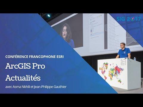L'actualité d'ArcGIS Pro