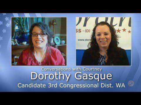 Dorothy Gasque - Candidate 3rd Congressional Dist. (WA) - Progressive Washington