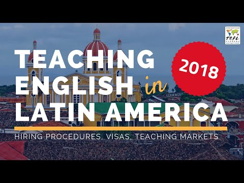 Teaching English in Latin America