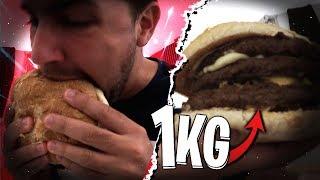 Ma revanche sur le Burger de 1 Kilo !