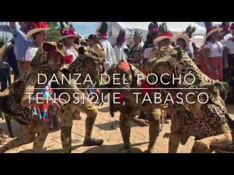 Danza del pochó, un baile tradicional en Tenosique