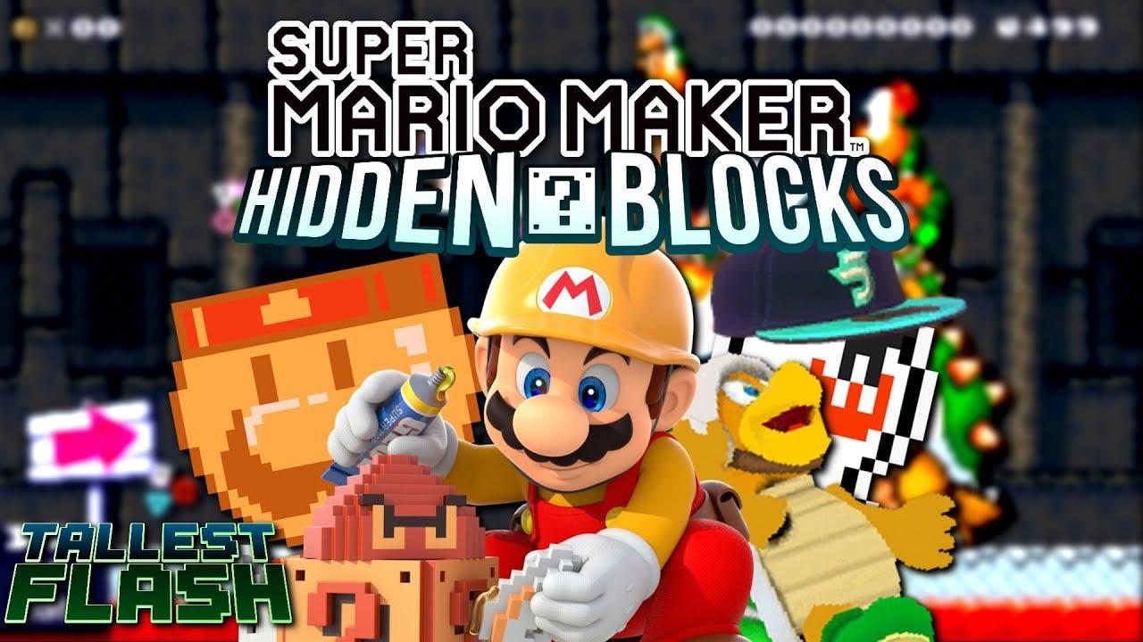 Super Mario Maker Lost Content and Unused Secrets   HiddenBlocks - Tallest  Flash