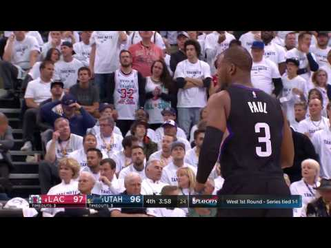 Chris Paul's 24 Second Half Points Lead The Way for the Clippers in Game 3 | April 21, 2017