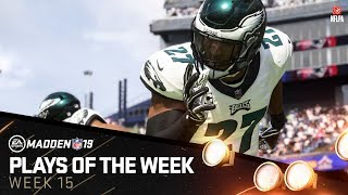 Madden 19 - Plays of the Week 15