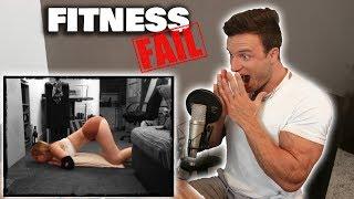 Ich reagiere auf Fitness Fails!