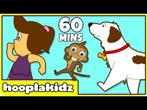Rig A Jig Jig | More Nursery Rhymes for Children by Hooplakidz