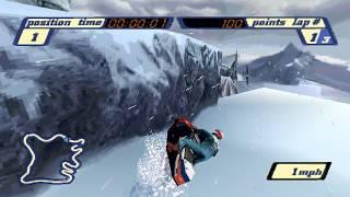 PS1 - Sled Storm - LongPlay [4K] Damaged