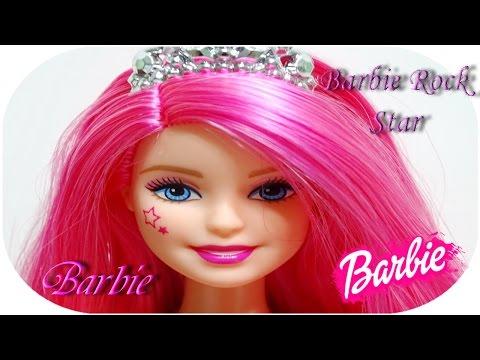 Barbie Rock Star oyuncak bebekler ve Prenses  Rock star Azra zor durumda evcilik oyunu