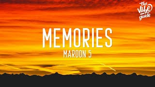 Download lagu Maroon 5 - Memories (Lyrics)