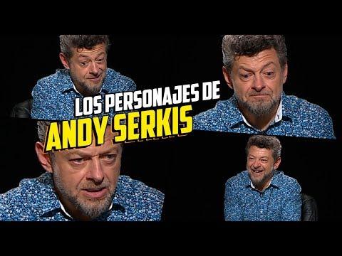 Andy Serkis nos habla como Gollum, César, Snoke, Kong