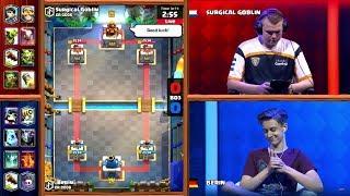 ¡Surgical Goblin vs Berin! - Duelo grandioso por la Crown Championship de Clash Royale - TheCryEc
