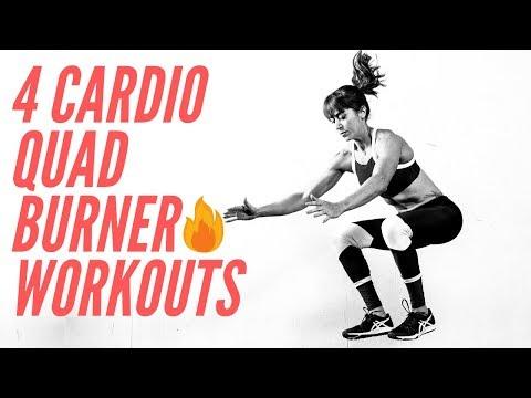 4 Cardio Quad Burner Workouts