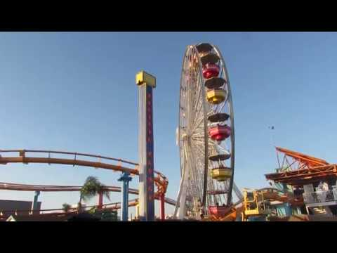 THE MORNING STORY - The Santa Monica Pier