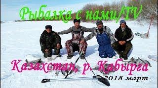 Классная рыбалка на окуня + бонус окунь на 2400 ,пойманный в Казахстане!