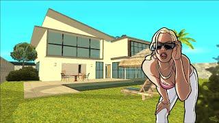 GTA San Andreas Mods Modern House E Yacht De luxo