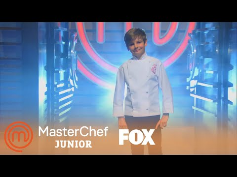 Logan Is Dressed For Success | Season 2 Ep. 7 | MASTERCHEF JUNIOR