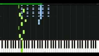 Muse - City of delusion [Piano Tutorial] Synthesia | passkeypiano