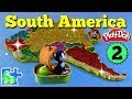 Map of South America for Kids: Part 2    Learn About Each Country    Play-Doh Puzzle