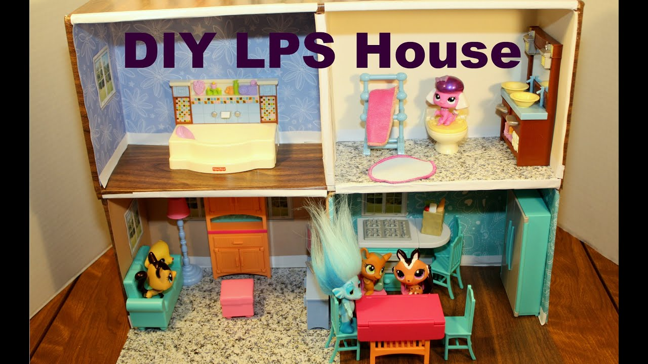 How to make a littlest pet shop doll house diy htm for Step by step to build a house yourself