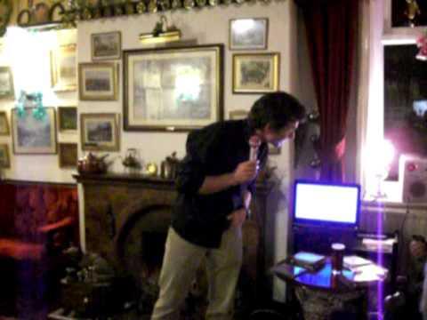 Derrick Batty - Karaoke Little Man New Years Eve 2010