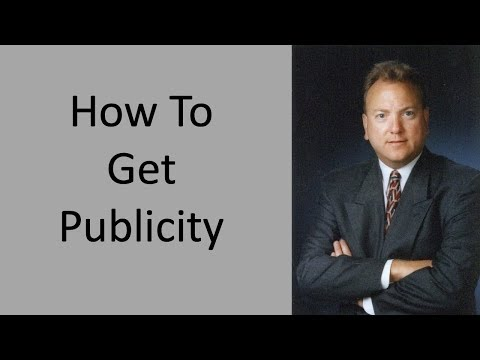 How To Increase Publicity For Your Business | One Of The Best Ways You Can Get Publicity