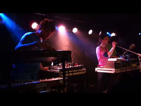 "Lali Puna -LIVE- ""Faking the Books"" @Berlin Jan 03, 2015"