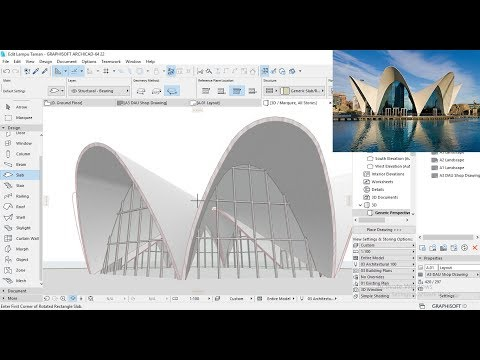 Tutorial ARCHICAD 22 Making Buildings Like ARCHICAD 23 With Shell Tool