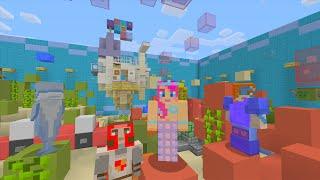 Minecraft XBOX - Hide and Seek - Water Wonderland!