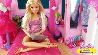 Мультик УТРО Барби в доме мечты! Куклы игры для девочек Dreamhouse ♥ Barbie Original Toys