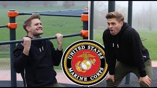 ik deed de US Marine Fitness Test zonder voorbereiding...