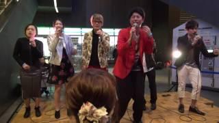 1. スパイシーマドンナ/BRADIO 2. Golden Liar/BRADIO 演奏:ゴリラの...