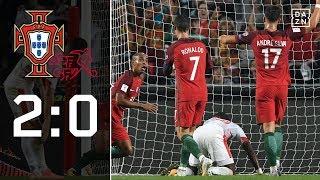 Gruppensieg und WM-Ticket für die Portugiesen: Portugal – Schweiz 2:0 | Highlights | WM-Quali | DAZN