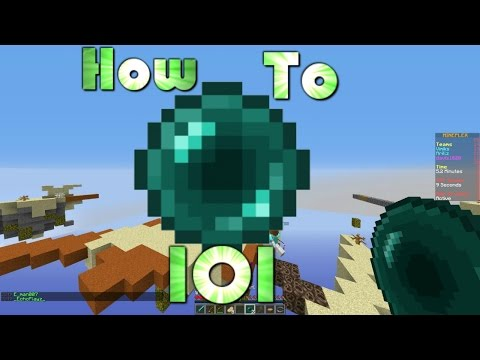 How to use Ender Pearls 101 | Skywars #10