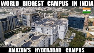 World Biggest Amazon Campus in India | Hyderabad | All The Details | Debdut YouTube