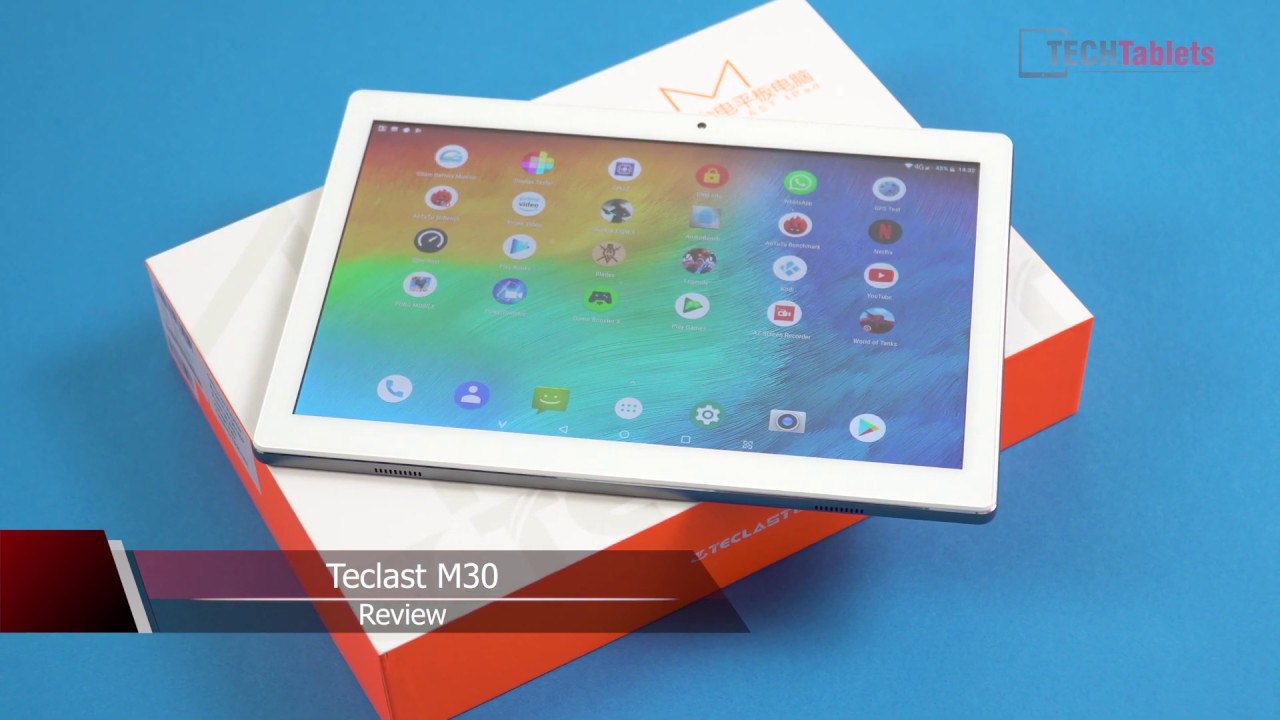 Teclast M30 Review - Budget 4G Dual SIM Android 8 Tablet