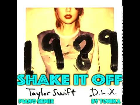 """Taylor Swift - """"Shake It Off"""" (Instrumental Piano Cover)"""