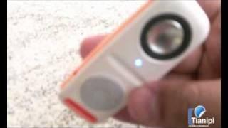 MP3 Player 2gb C/ Alto Falante Externo Com Suporte Até 16gb - TIANIPI