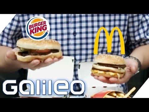 McDonald's vs Burger