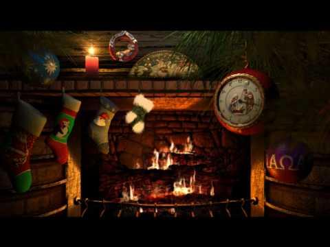 Fireside christmas screensaver 3planesoft youtube