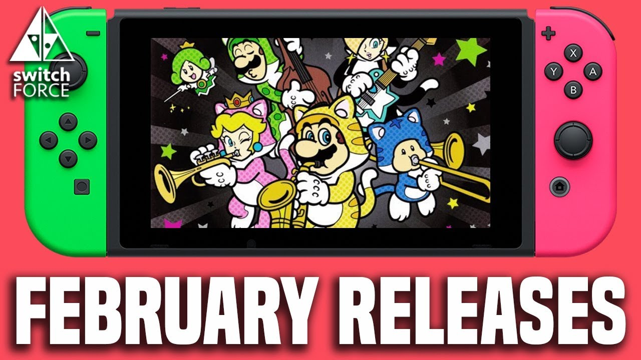 All Nintendo Switch Games February 2018 Release Dates