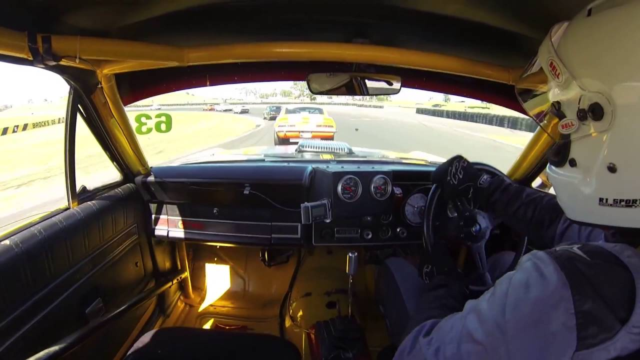 Carve Through a Group N Touring Car Field in a Ford XY GTHO