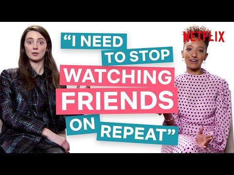 Sex Education's Tanya & Patricia Talk Schitt's Creek, Modern Family & Big Mouth | Netflix