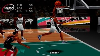 NBA ShootOut 2002 Gameplay Exhibition Mode (PlayStation)