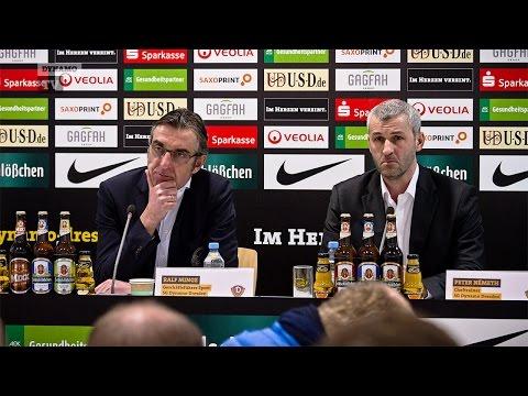 Vorstellung des neuen Cheftrainers Peter Németh