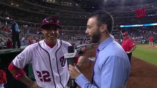 Juan Soto after stellar first major league start