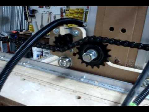 Blackfoot 4x8 Cnc Machine Demonstration Youtube