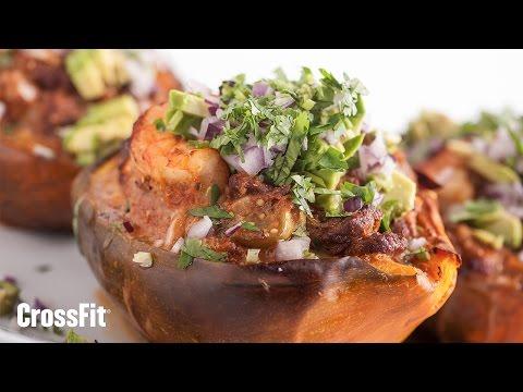 The CrossFit Kitchen: Acorn Squash Molcajete